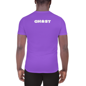 Ghost Limited Edition Men's Athletic T-Shirt - Purple