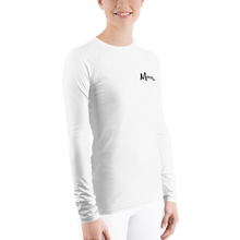 Load image into Gallery viewer, MANNIAC Essentials Women's Long Sleeve - White