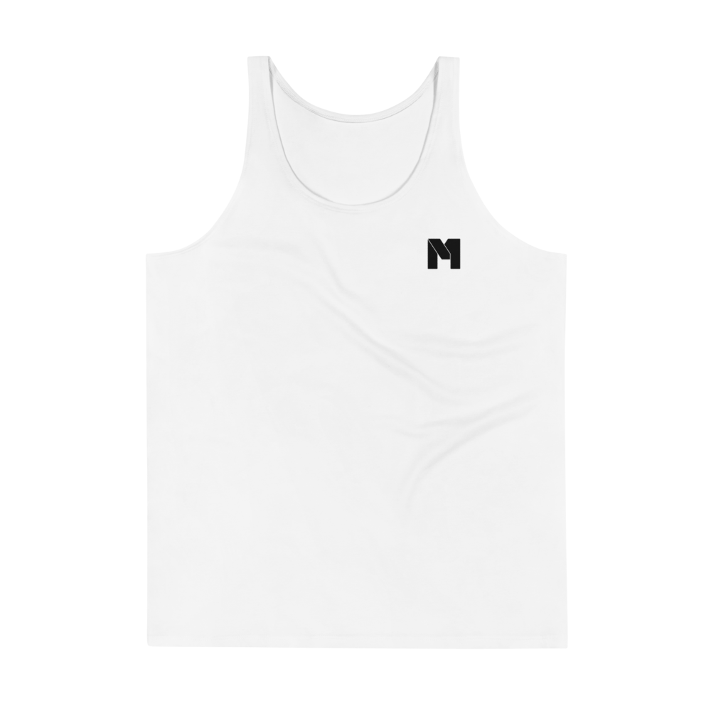 CLASSIC M Essentials Men's Tank Top - White