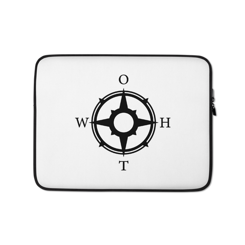 OTWH Essentials Laptop Sleeve - White