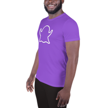 Load image into Gallery viewer, Ghost Limited Edition Men's Athletic T-Shirt - Purple