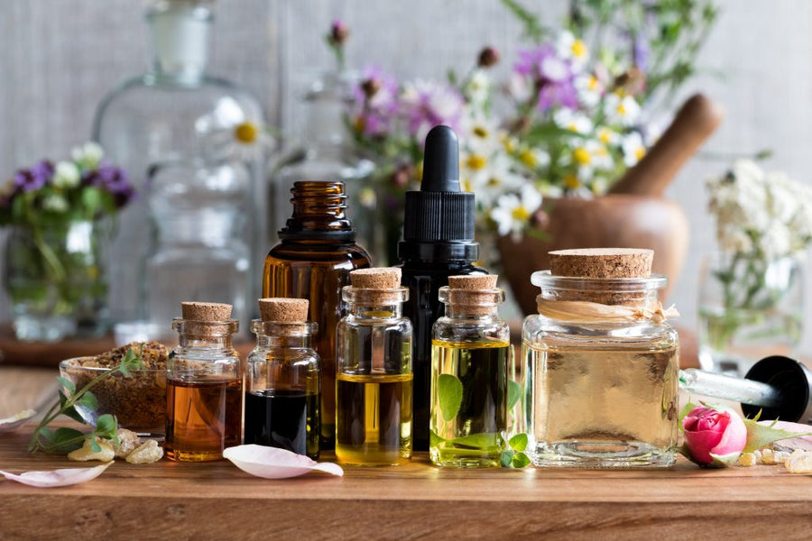 Aromatherapy -  spirituality amidst the madness