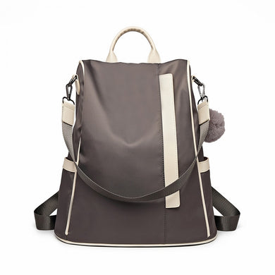 Two Way Anti-Theft Backpack - Grey - Elsie & Evie