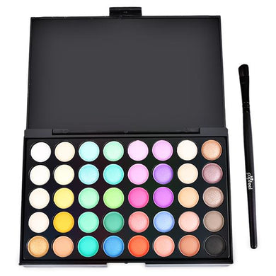40 Colours Makeup Eyeshadow Palette - Elsie & Evie