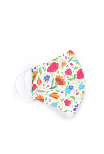 Multi Floral Print Washable Outdoor Protection Face Mask