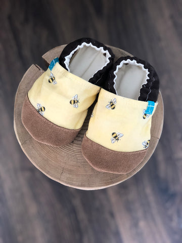 Bees Child Slippers