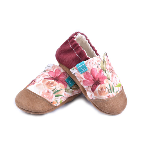 Boho Flowers Child Slippers