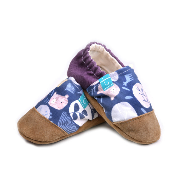Forest Treasure Child Slippers
