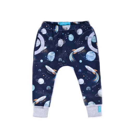 Blast off Night Pants with round pockets