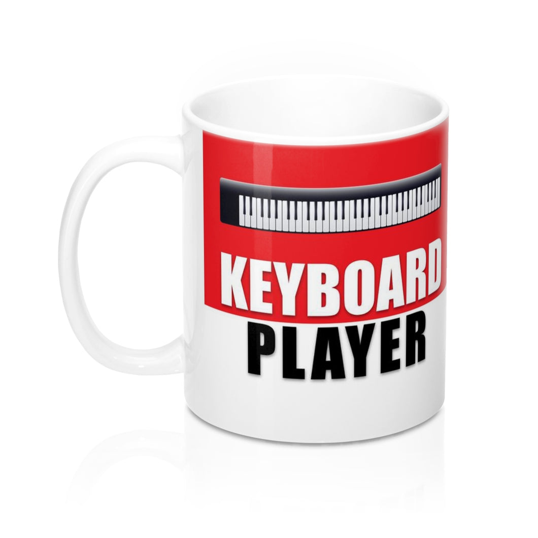 Keyboard Player Mug