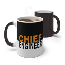 Load image into Gallery viewer, Chief Engineer Color Changing Mug