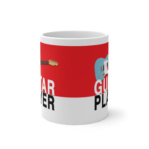 Tele Guitar Player Mug