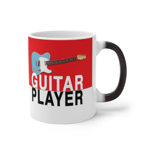 Guitar Player Color Changing Mug - Tele