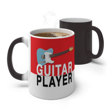 Load image into Gallery viewer, Guitar Player Color Changing Mug - Tele