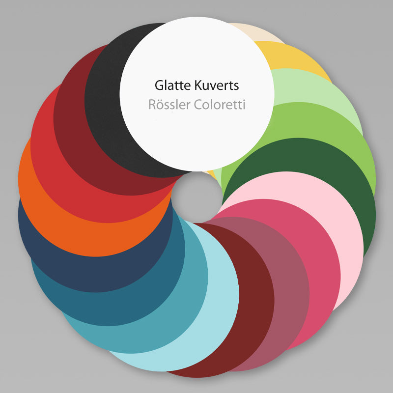 Rössler Papier Coloretti Kuverts Briefumschläge