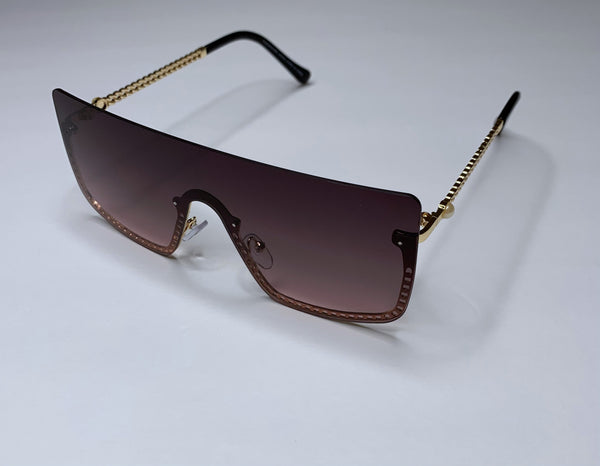 So Fly Sunglasses-Black/ Gold