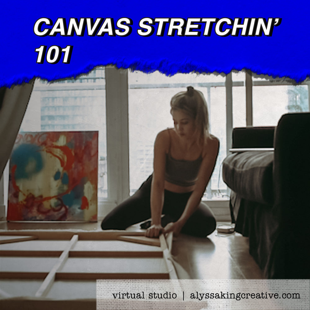 Canvas Stretchin' 101
