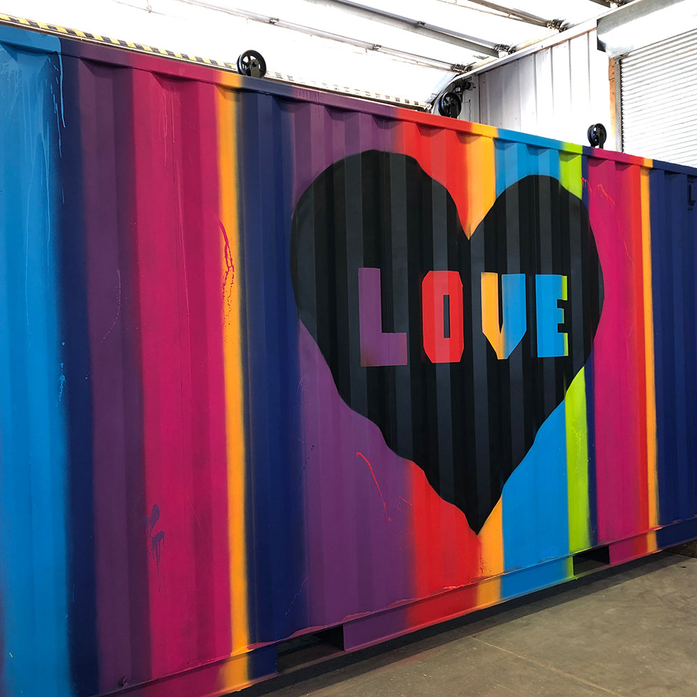 Love Mural - Alyssa King Creative