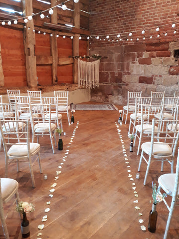 Wedding venue at Pimhill barn, my very first wedding ceremony by Tim Downer celebrant