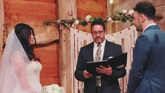 A Wedding ceremony performed by Tim Downer Celebrant