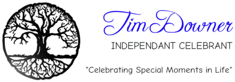 A logo from Tim Downer Independent Celebrant