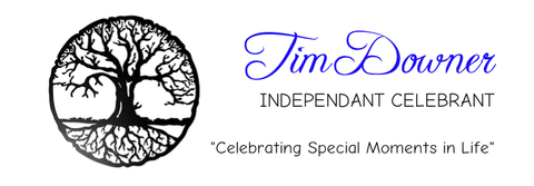 Business logo for Tim Downer Celebrant