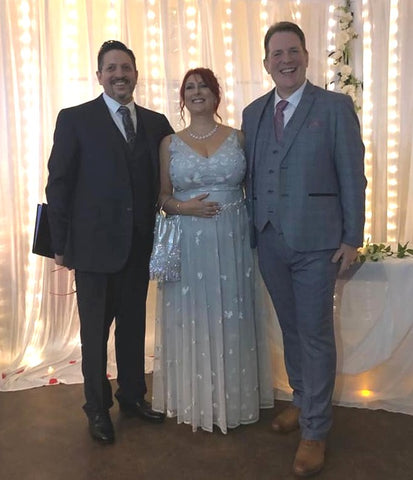 Photograph taken just after my renewal of vow ceremony for this couple as Tim Downer Celebrant