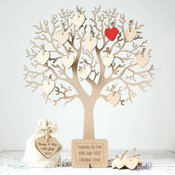 A wishing tree used a your baby naming ceremony, as well as a wedding ceremony - Tim Downer Celebrant