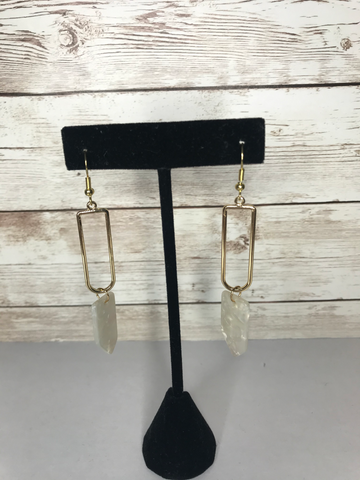 Gold Dangle Arrow