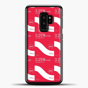 325 Percent Milk Carton Print Samsung Galaxy S9 Plus Case
