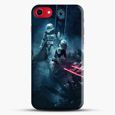 501St Legion Fan Art Figh At Night Iphone 7 Case, Black Snap 3D Case | JoeYellow.com