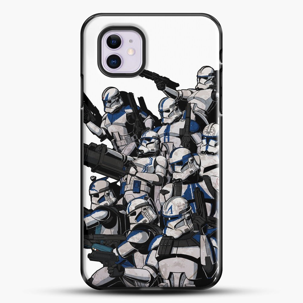 501St iPhone 11 Case, Black Plastic Case | JoeYellow.com
