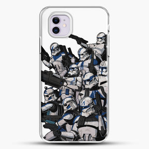 501St iPhone 11 Case, White Plastic Case | JoeYellow.com