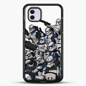 501St iPhone 11 Case, Black Rubber Case | JoeYellow.com