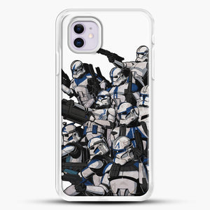 501St iPhone 11 Case, White Rubber Case | JoeYellow.com