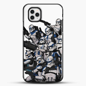 501St iPhone 11 Pro Case, Black Plastic Case | JoeYellow.com