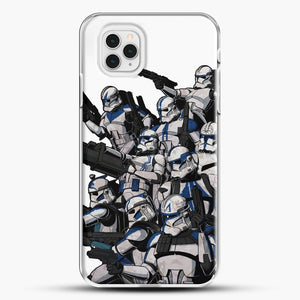 501St iPhone 11 Pro Case, White Plastic Case | JoeYellow.com
