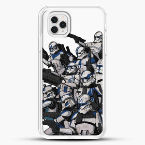 501St iPhone 11 Pro Case, White Rubber Case | JoeYellow.com