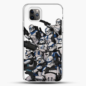 501St iPhone 11 Pro Max Case, White Plastic Case | JoeYellow.com