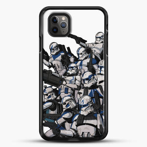 501St iPhone 11 Pro Max Case, Black Rubber Case | JoeYellow.com