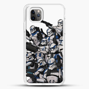 501St iPhone 11 Pro Max Case, White Rubber Case | JoeYellow.com
