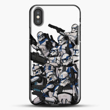 Load image into Gallery viewer, 501St iPhone X Case, Black Plastic Case | JoeYellow.com