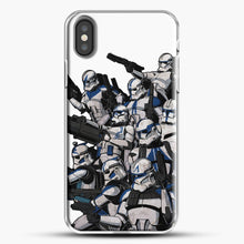 Load image into Gallery viewer, 501St iPhone X Case, White Plastic Case | JoeYellow.com