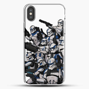 501St iPhone X Case, White Plastic Case | JoeYellow.com
