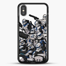 Load image into Gallery viewer, 501St iPhone X Case, Black Rubber Case | JoeYellow.com