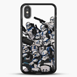 501St iPhone X Case, Black Rubber Case | JoeYellow.com