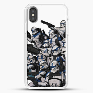 501St iPhone X Case, White Rubber Case | JoeYellow.com