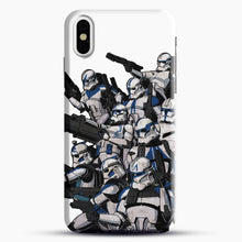 Load image into Gallery viewer, 501St iPhone X Case, Black Snap 3D Case | JoeYellow.com