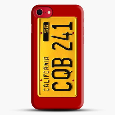 70S License Plate Christine Iphone 7 Case, Black Snap 3D Case | JoeYellow.com
