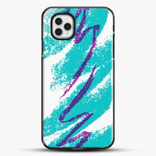 Load image into Gallery viewer, 90S Cup Jazz Pattern iPhone 11 Pro Case, Black Plastic Case | JoeYellow.com